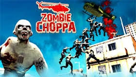 Play online free Zombie Choppa Helicopter rescue game